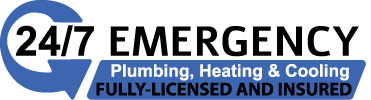 24/ emergency plumbing heating and cooling fully-licenced and insured!